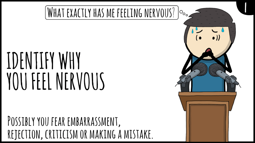 public speaking nerves