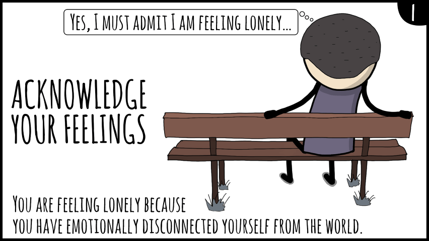 deal with loneliness