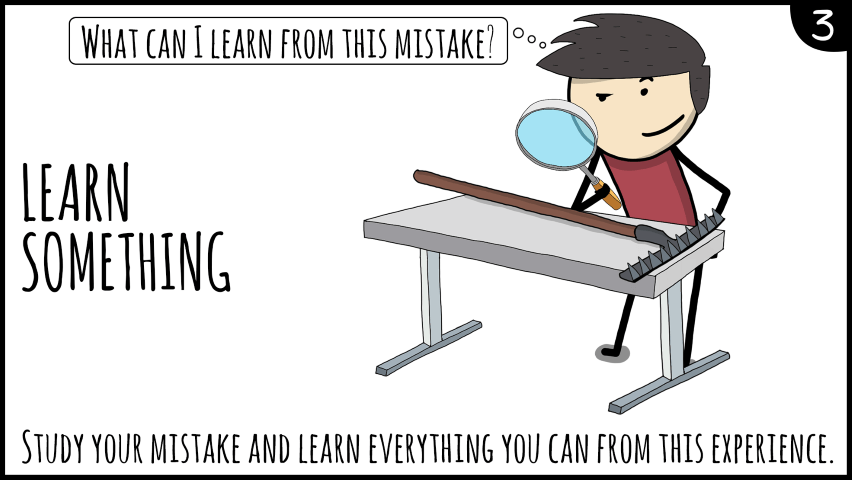 learn by mistakes