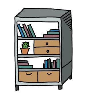 doodle shelf