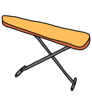 How to Doodle Ironing Board