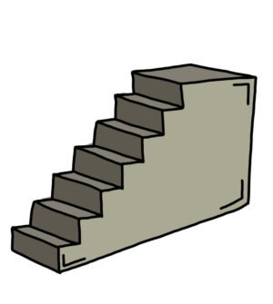 How to Doodle Staircase